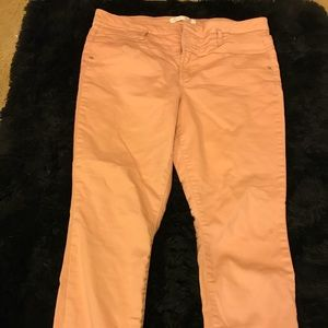 Pink High Waisted Jeggings